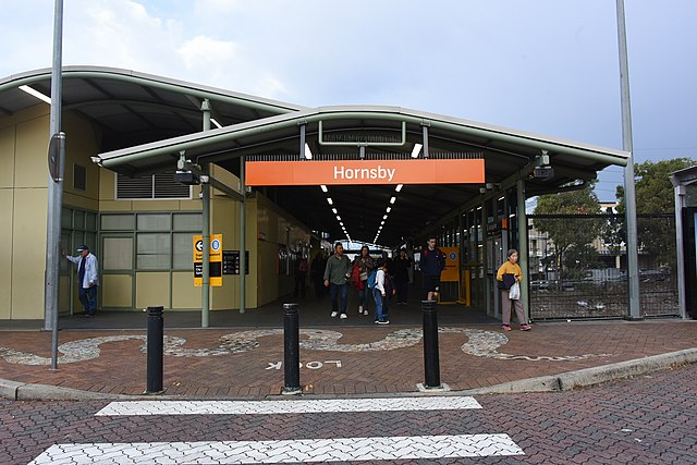 Hornsby Station